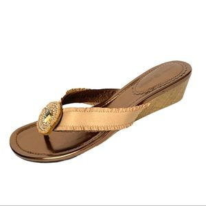 Lindsay Phillips Switch Flops Wedge Sandals